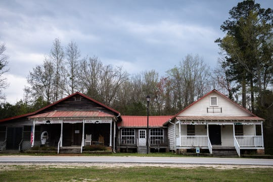 Historic buildings at Mill Pond in Boykin which is located in Kershaw County, Wednesday, March 18, 2020. The County has the highest number of cases of coronavirus in South Carolina.