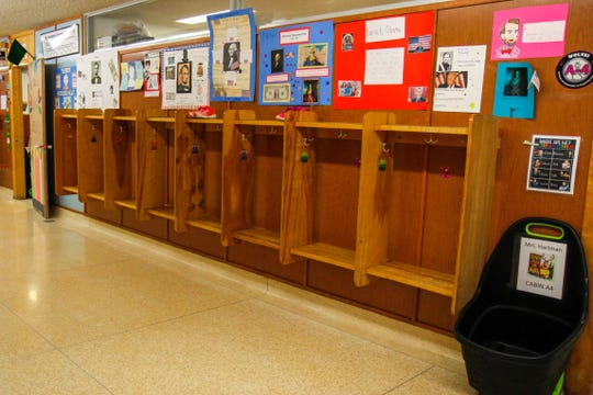 The hallways at Sacajawea Elementary School were empty on Wednesday morning following the closure of all K-12 schools in Montana due to the coronavirus pandemic.