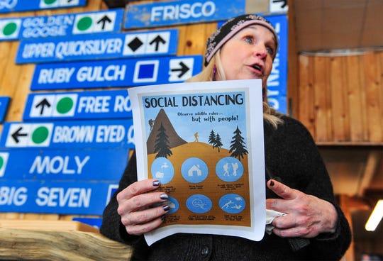 Katie Boedecker, general manager of Showdown Montana ski area.
