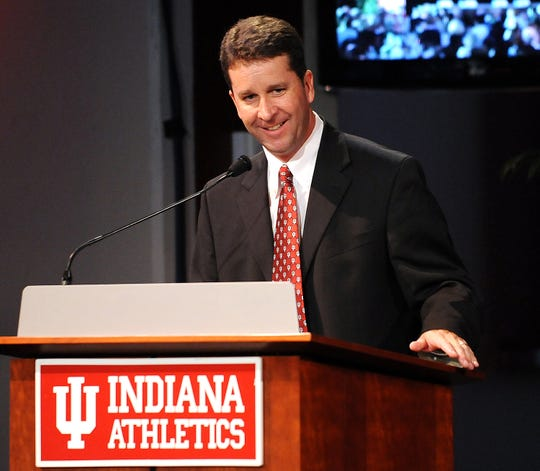 New Indiana athletic director Scott Dolson