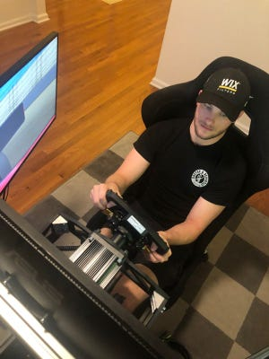 Dreyer and Reinbold IndyCar driver Sage Karam is one of the paddock's most-skilled iRacing competitors.