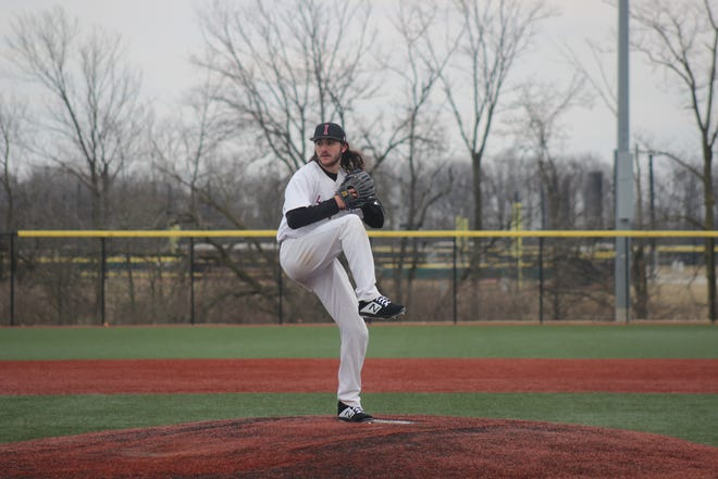 UIndy starter Corey Bates had to adjust to his new role of entering out of the bullpen after the Greyhounds used an opener to start games.