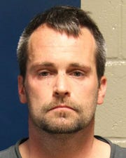 Jason West, 41, faces two counts of aggravated arson in connection with a house fire in Counce on March 18, 2020. No injuries were reported as a result of the fire, though two people were inside the home at the time.