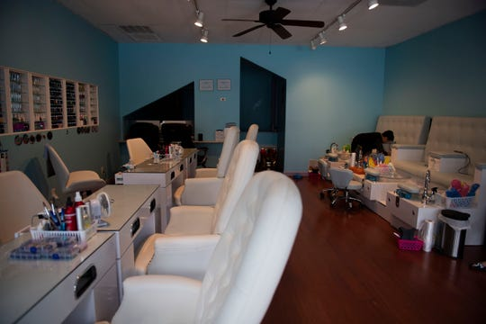 Kevin Nguyn, the owner of AnyArt nail salon, has noticed business has been slower than usual. He's unsure if it's due to the coronavirus outbreak and the social distancing measures recommended to mitigate its spread.