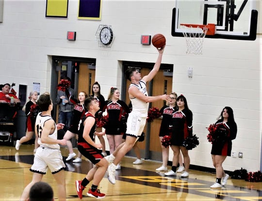 Bloom-Carroll senior Otto Kuhns is the 2020 Eagle-Gazette Boys Basketball Player of the Year.