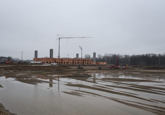 The Red Cedar project across the street from Frandor pictured Thursday, March 19, 2020.