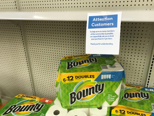 Walmart is limiting the purchase of items in high demand