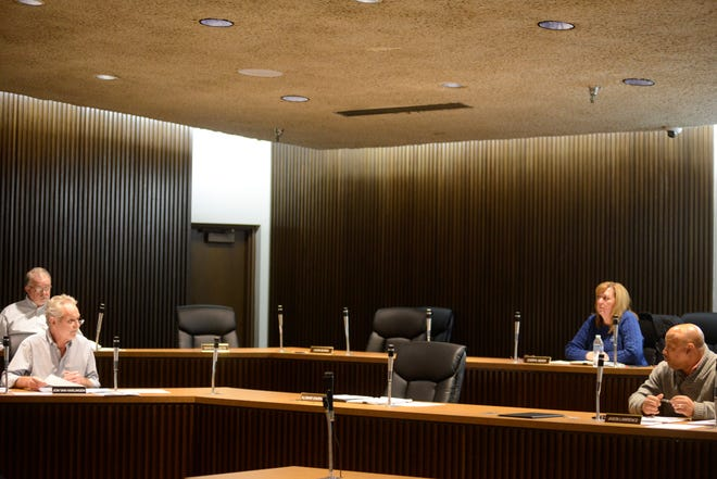 Council members have been meeting remotely via Zoom to discuss the city's financial forecast.