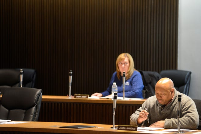 Some members of Mansfield City Council elected to stay at home and participate in the meeting by conference call.