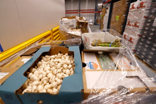 Seven pallets with over 4000 pounds of food supplies were donated to the Mid-South Food Bank by Horseshoe Casino after their operations were shut down due to concerns of the spread of coronavirus on Thursday, March 19, 2020.