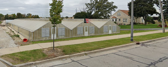 Greenhouses on South 20th Street, just south of I-894, will soon be home to micro-farms and other businesses.