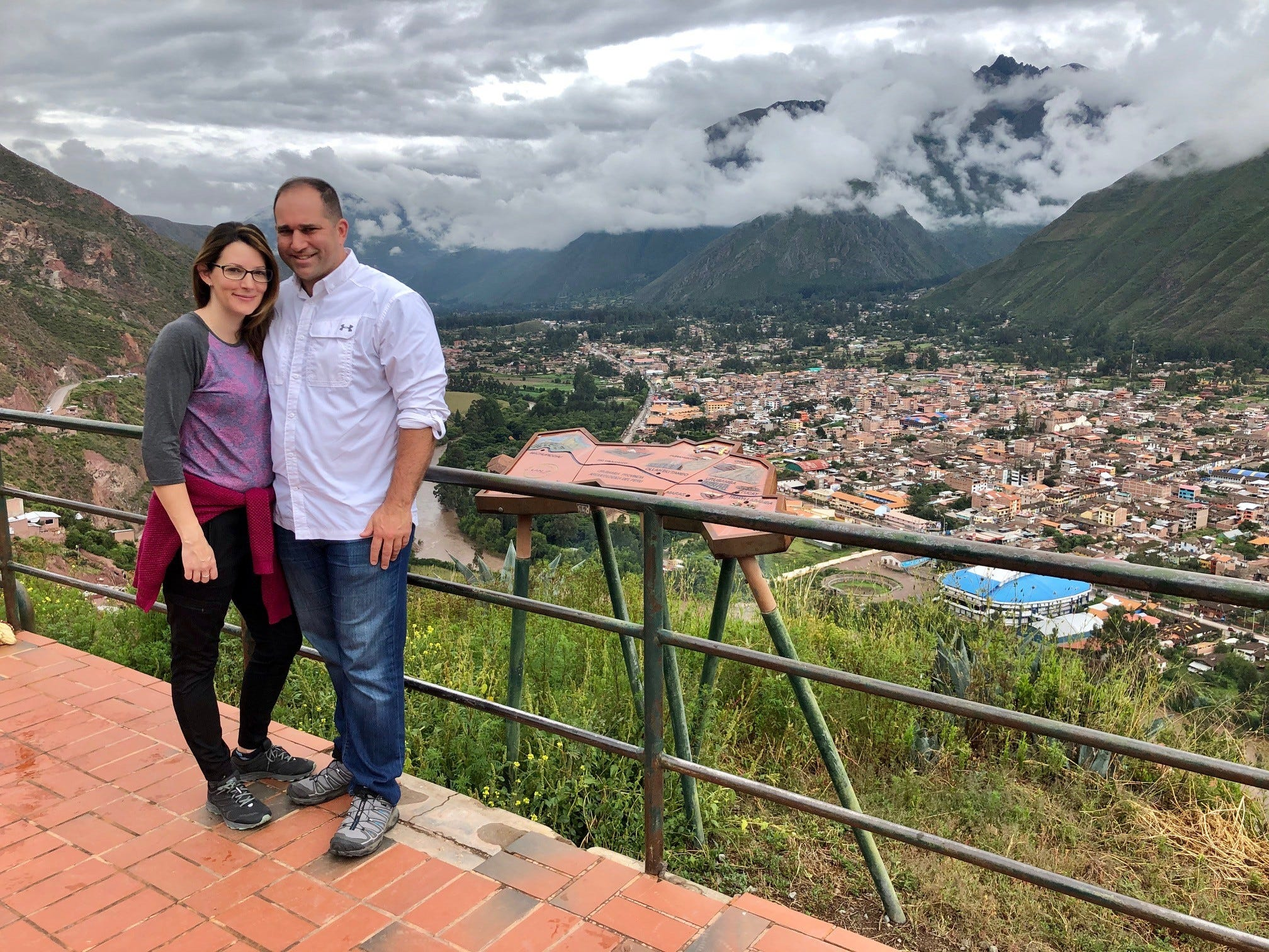 Linda Scruggs and Mike Rustici, Williamson County residents, were on vacation in Peru when the country went on lockdown in response to the spread of the deadly COVID-19 pandemic. The couple were able to make it to Lima, where they're staying in a hotel waiting for any chance to get a flight home.