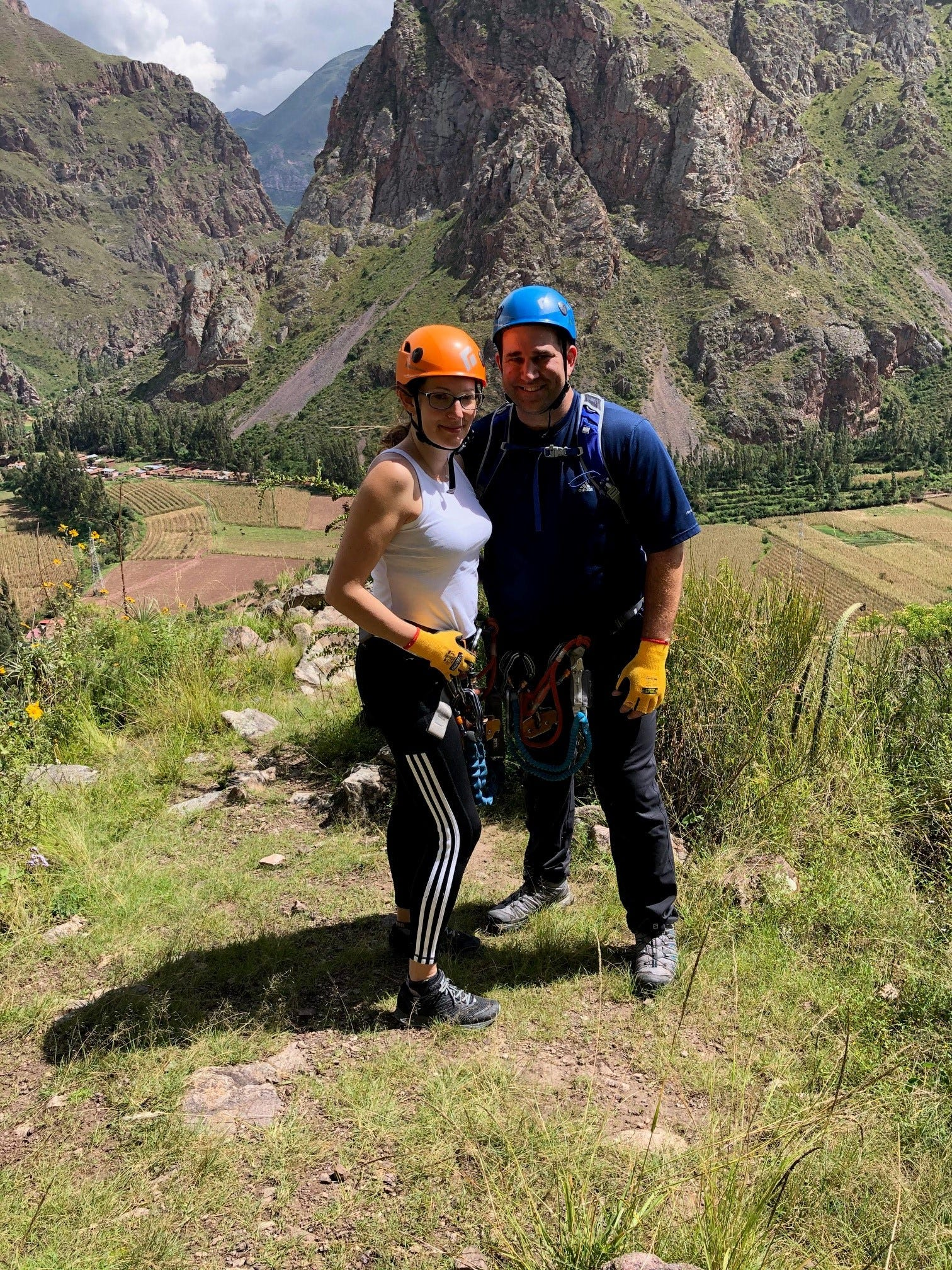 Williamson County residents Linda Scruggs and Mike Rustici, who are stranded in Peru.