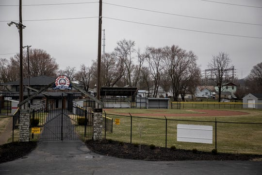 Mound City Ball Park and other little league sites will stand empty through at least April 6 due to the spread of the coronavirus.