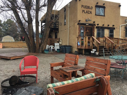 The 550 Brewing taproom, pictured Thursday, March 19, 2020, on Chuska Street in Aztec is closed until further notice in efforts to prevent the spread of coronavirus. The pizza parlor on Main Avenue remains open for curbside pickup.