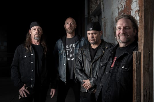Jason Rainey's final photo shoot with Scared Reich in February, 2019.
