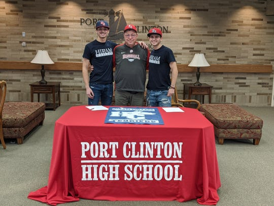 Port Clinton's Tyler Webb and Jaxon Martinez continue their baseball careers at Hiram College.