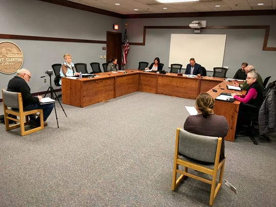 Port Clinton City Council had a special meeting on Wednesday before a sparse audience with an unusual seating arraignment meant to limit any potential spread of the novel coronavirus.