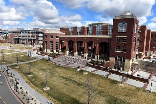 UNR Campus March 19, 2020