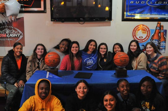 Friends and former teammates from many different schools came to Acuna's signing ceremony Monday night. March 16, 2020.