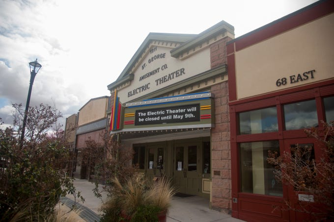 The Electric Theater closes in response to COVID-19 directives Thursday, March 19, 2020.