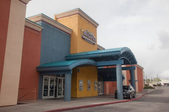 Megaplex Theatres around St. George close their doors in response to COVID-19 directives Thursday, March 19, 2020.