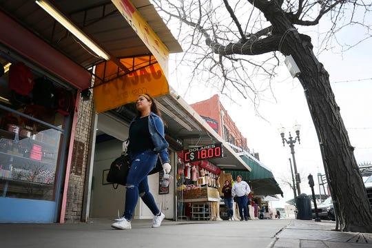 Casa de Cambio EMEX Thursday, March 19, 814 S El Paso St. in downtown El Paso.