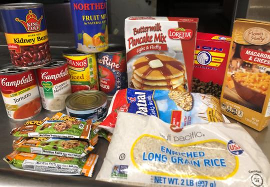 Food kits at Feeding Westchester
