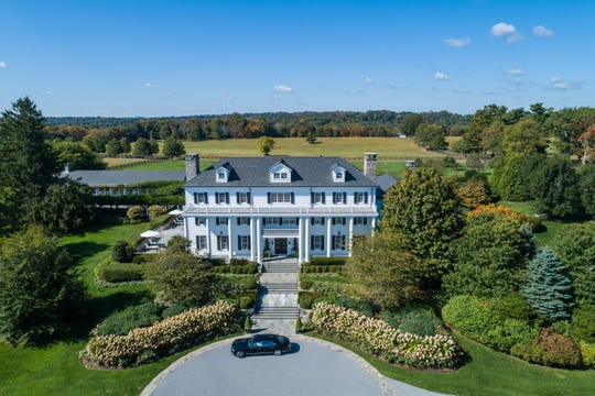 Stonewall Farm is the largest, and most expensive residential property on the market in Westchester. It's listed at $100 million. The slate roof was repurposed from the Yale Divinity School in New Haven, Conn.