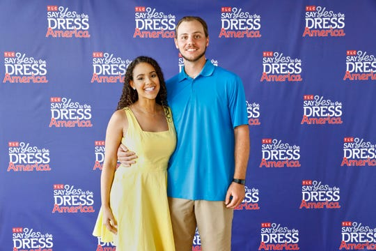 """New Castle's Joanna and Steven Talmo appeared on """"Say Yes to the Dress America,"""" a 10-part TLC series which concluded last weekend."""