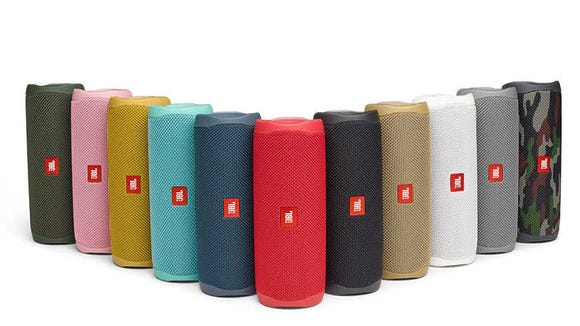 The Flip 5 is the new and improved model of our favorite portable speaker.