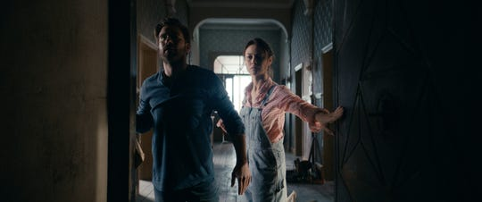 """Kevin Janssens and Olga Kurylenko star as a European couple who buy a house with a secret wish-granting room in """"The Room."""""""