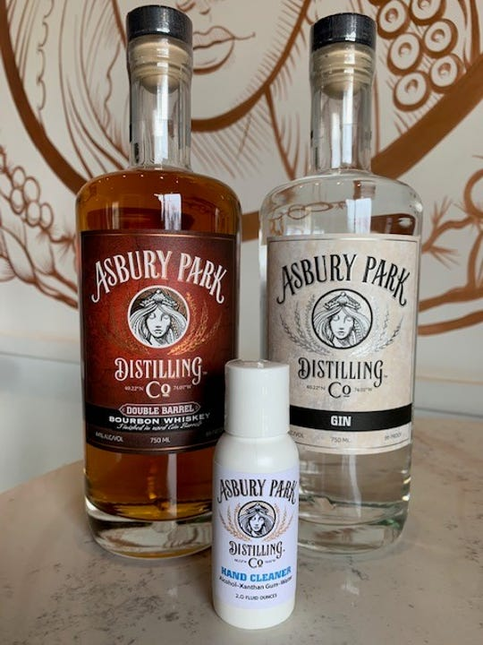 Asbury Park Distilling Co. is now offering hand cleanser to its customers and members of the local community.