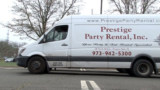 Prestige Party Reintal, Inc. was called-in by the NJ Department of Health to help set-up the coronavirus testing center at PNC Arts Center