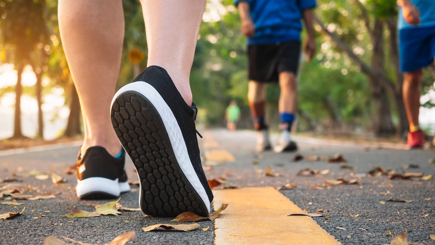 Let's keep moving': Walking can boost spirits during lockdown