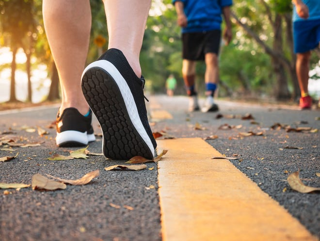 Walking has been shown to be a beneficial exercise for people who are trying to improve their overall wellness and health.