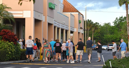 A Publix in Brevard County has registered its first positive COVID-19 case.
