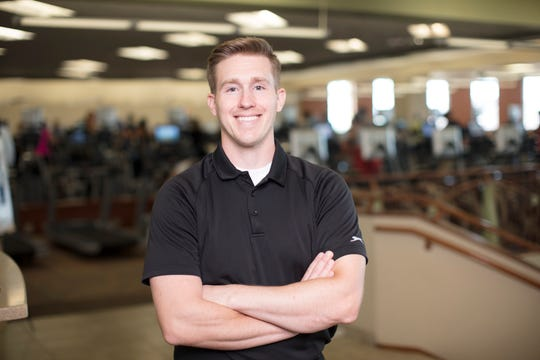 Matthew Duffy, Health First's Pro-Health & Fitness Clinical Integration Specialist.