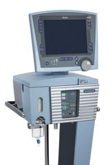 This undated photo provided by Vyaire Medical, Inc. shows an Avea CVS ventilator. U.S. hospitals bracing for a possible onslaught of coronavirus patients with pneumonia and other breathing difficulties could face a critical shortage of mechanical ventilators and health care workers to operate them.