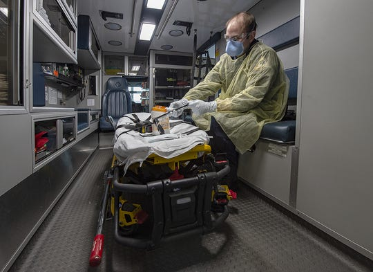 First responders across South Jersey are adapting to the coronavirus outbreak by making changes to the way they interact with the community.