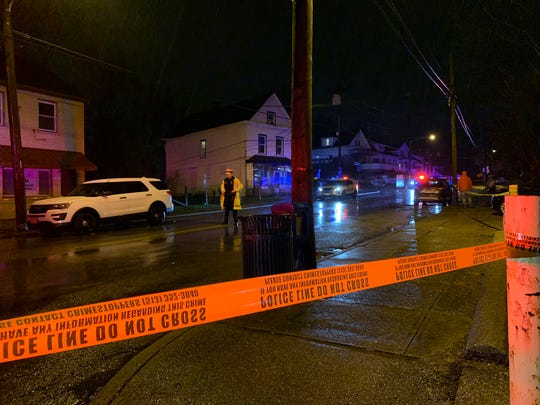 Police responded to a homicide in Westwood Thursday night.