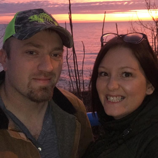 Andrew Czuk, 31, and Shawna Phillips, 33, of Eau Claire.