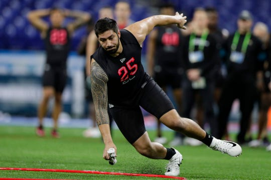 28. Baltimore Ravens: DE A.J. Epenesa, Iowa – Epenesa gets docked for a lack of athleticism, but he's the type of big, productive player I could see the Ravens taking in Round 1.
