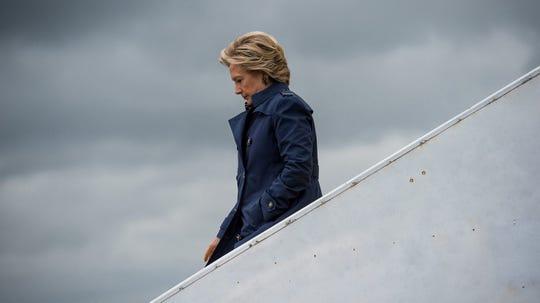 "Hillary Clinton in ""Hillary."""