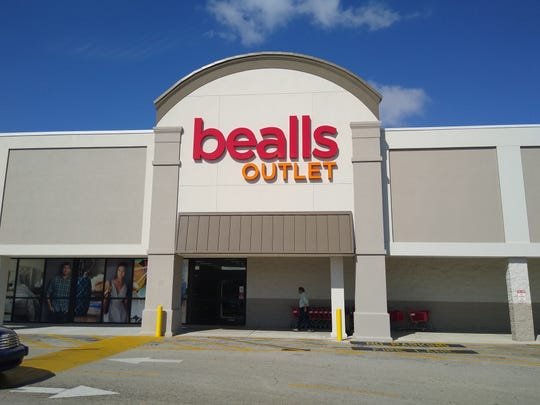 Bealls, one of the original tenants at Merchants Crossing, sporting a new facade financed with a Lee County economic development grant.