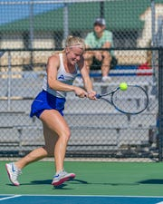 FGCU senior Maja Ornberg is one of many athletes from Europe. Ornberg is unable to return to Sweden and is stranded at Florida Gulf Coast due to the coronavirus pandemic.