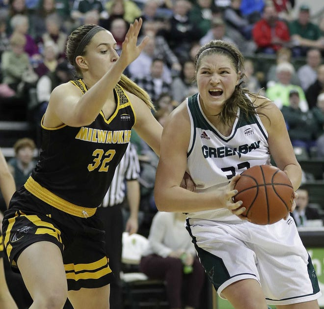 UWGB sophomore forward Karly Murphy has entered the NCAA transfer portal.
