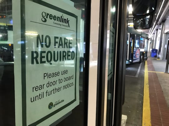 Greenlink has waived fares in response to economic hardships surrounding the spread of the coronavirus.