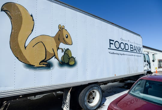 Great Falls Food Bank has seen a substantial increase in the pounds of outgoing food this week and has also seen an increase of food donations this week over the previous couple of weeks.