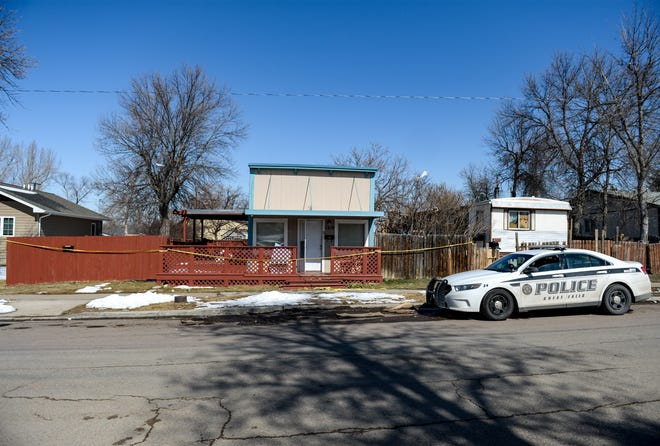 The residence as 1219 6th Ave. S. where a homicide occurred on Thursday night.
